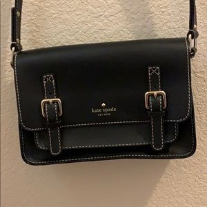 NWOT-Kate Spade Black Crossbody Purse